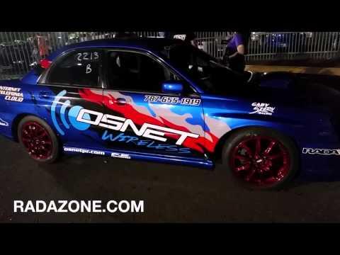 RADAZONE.COM Subaru OSNET pase de Prueba 5 díc 2014