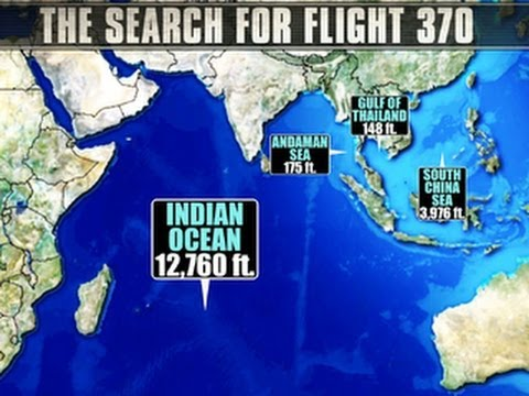 Kaku: Locating Malaysia Airlines Flight 370 like