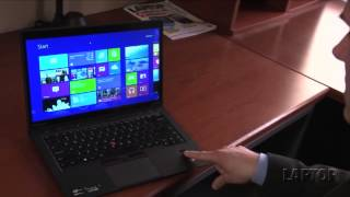Hands on with the Lenovo ThinkPad X1 Carbon Touch