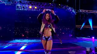 The Boss Sasha Banks Entrance WWE RAW 2017 11 06