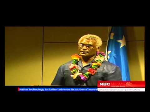 Solomon Islands PM Arrives_NBC News