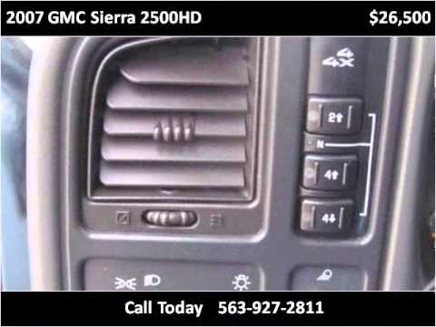 2007 GMC Sierra 2500HD Used Cars Manchester IA