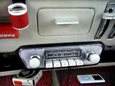 Blaupunkt Frankfurt Radio with Ipod