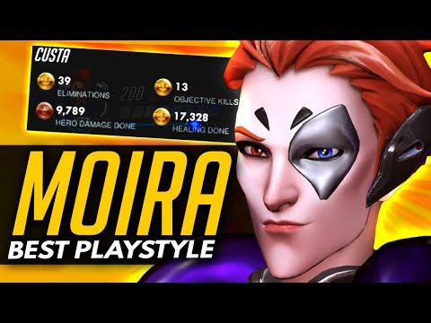 Overwatch | The Pro MOIRA Playstyle - How Custa Plays Moira (First Tournament Gameplay)