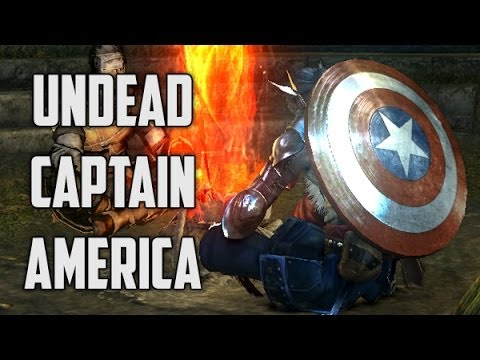 Dark Souls - Captain America Shield Mod