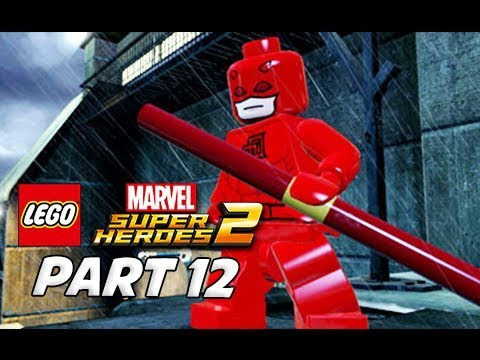 LEGO Marvel Super Heroes 2 Gameplay Walkthrough Part 12 - DareDevil