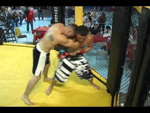 SMC ~ Southern Michigan Cagefighting ~ Patriot Games Josh Johnson Vs Steve Johnson