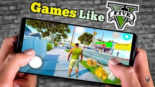 Top 5 GTA 5 like game // for Android and iOS// how to download GTA 5 like game