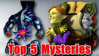 Top 5 Biggest Mysteries in Zelda Ocarina of Time