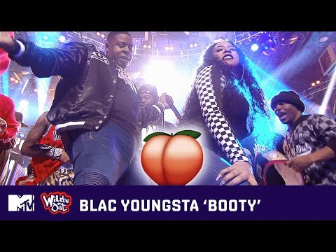 Blac Youngsta Gets the Building Jumpin' w/ 'BOOTY' 🍑 (Live Performance) 🎶   Wild 'N Out   MTV