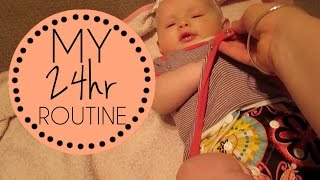 My 24 hr routine with a baby in 16 min