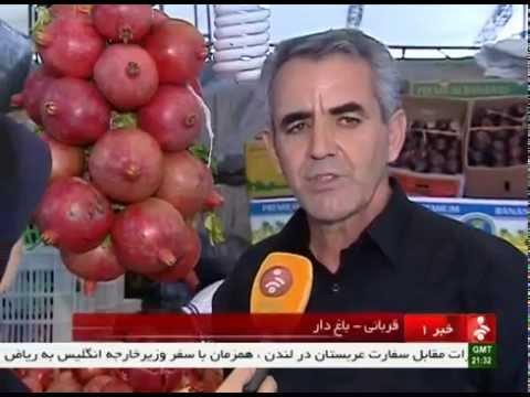 Iran Tehran city, Pomegranate festival جشنواره انار شهر تهران ايران
