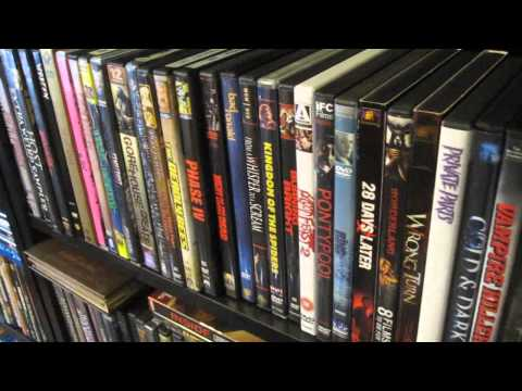 72 Horror Dvds - Random Horror Dvd Shelf #3