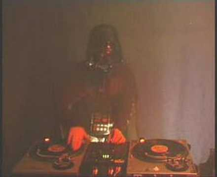 Scratching Darth Vader