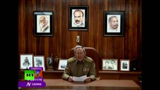 Fidel Castro dies at age 90, his brother announces on TV (ENG SUBTITLES)