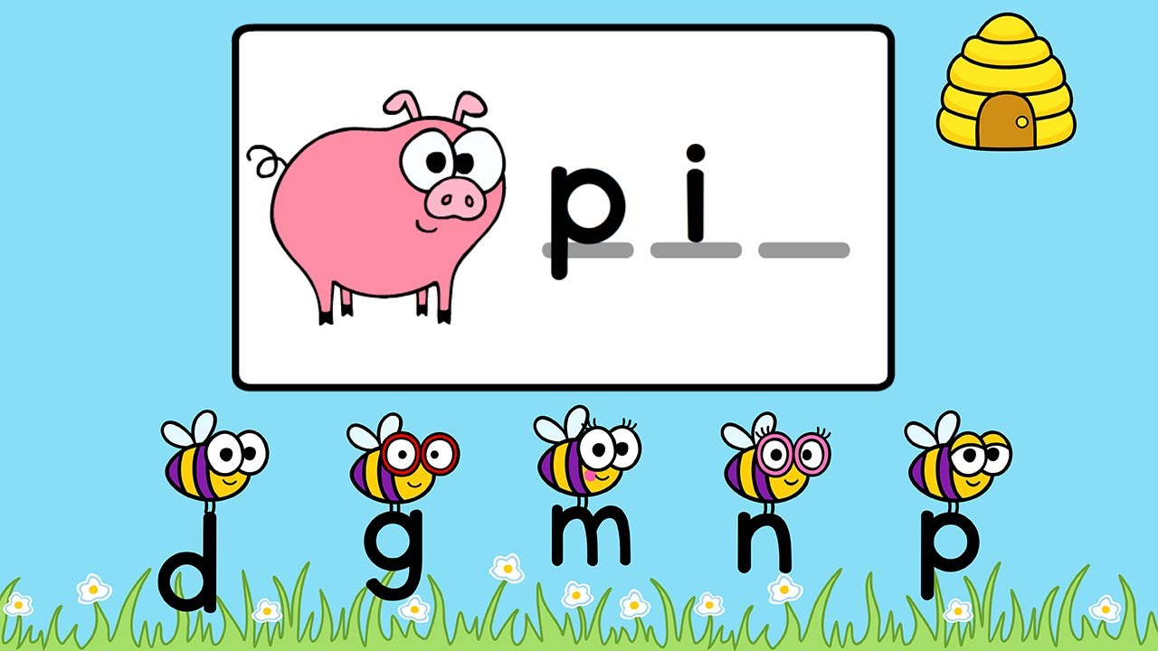 Free Digraph Games furthermore Letter P Worksheet also Digraphs Ch Worksheets Activities No Prep Phonics Literacy additionally Letters Begin besides Phonics Ending Sounds Ing Worksheet. on beginning and ending sounds for kindergarten
