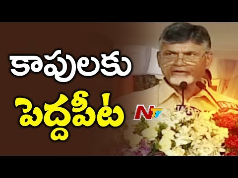 CM Chandrababu Naidu Speech On Kapu Welfare Schemes In Andhra Pradesh | NTV