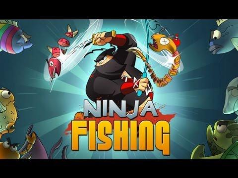 Ninja Fishing - iPhone & iPad Gameplay Video
