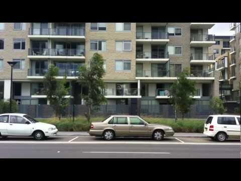 2012 Bus Ride around Canberra City Center, Australian National University and CIT