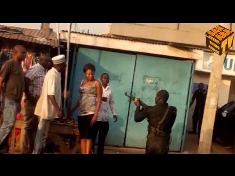 EXPLOSIVE: Drunken Mobile Policeman Caught Assaulting Two Women