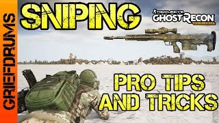 Sniping Pro Tips and Tricks: Ghost Recon Wildlands - Long Range Sniping