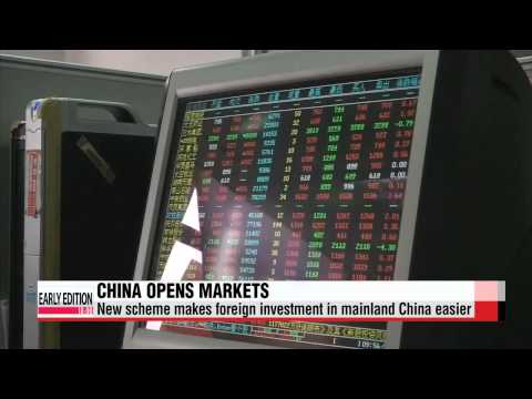 Money pours into Shanghai-Hong Kong stock connect   ′후강퉁′ 시대 오늘 개막...′자금 블랙홀′ 우려