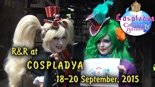 R&R Introduction video for COSPLADYA 2015, Italy