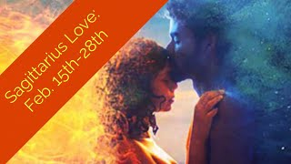 """SAGITTARIUS LOVE:  FEB. 15th-28th  """"GET OUT OF YOUR HEAD...IT WORKS OUT!"""""""