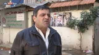 قصف مخيم اليرموك بالبراميل المتفجرة