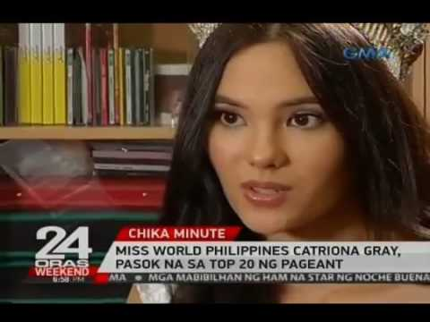 Miss World Philippines Catriona Gray, pasok na sa Top 20 ng pageant
