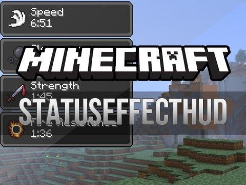 Minecraft: StatusEffectHUD Mod