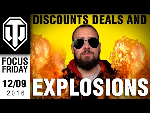 World of Tanks PC - Discounts, Deals, and Explosions - Focus Fridays