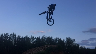WORLDS FIRST MTB TRICK - DOUBLETRUCK to TAILWHIP by LUKAS KNOPF