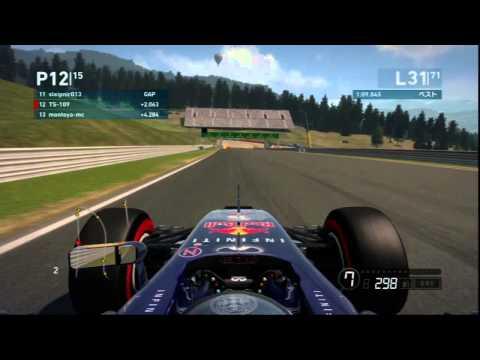 F1 2014 MGT-CUP 第8戦 オーストリアGP