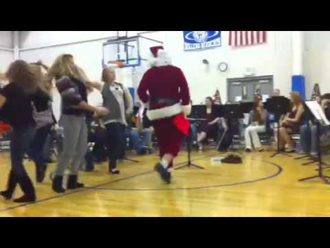Oolitic Middle School - Steppin' Out With Santa