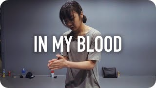 Download Lagu In my blood - Shawn Mendes / May J Lee Choreography Gratis STAFABAND