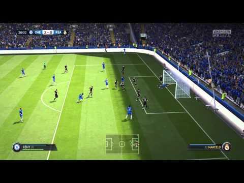 Fifa 2015 Chelsea Vs Real Madrid (Online Season Match)