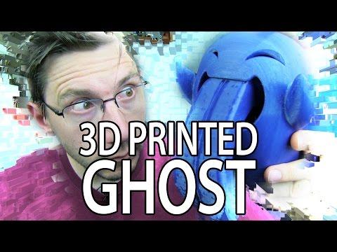 3D Printing the 3DKitBash Mega Ghost