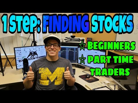 How I learned To Find Hot Stocks | All Year Long | No Stock Scanner | 2018 thumbnail