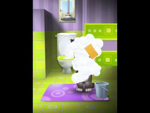 [My Talking Tom] Il Gatto Tom Facendo I Suoi Bisogni
