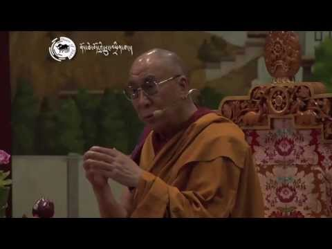 Dalai Lama's teaching to Tibetan youth on '.Opening the New Eye of Awareness': 28 June 2013