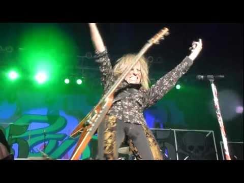 Rocklahoma 2011 - Poison - CC DeVille Guitar Solo