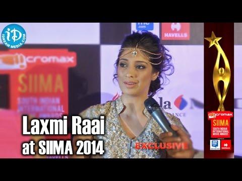 Actress Laxmi Rai Excited about SIIMA 2014 Awards, Malaysia