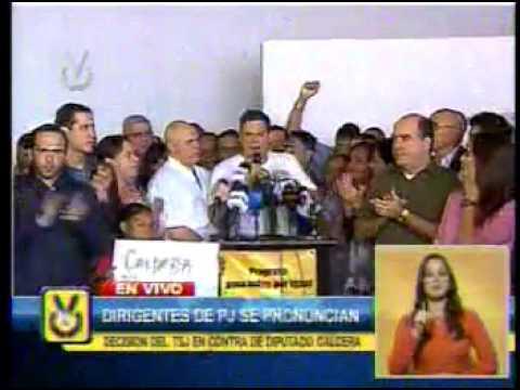 Juan Carlos Caldera renuncia a su cargo a la Asamblea Nacional
