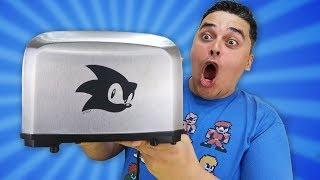 Torradeira do Sonic! Unboxing da Coisa Mais ESTÚPIDA que eu já Comprei!