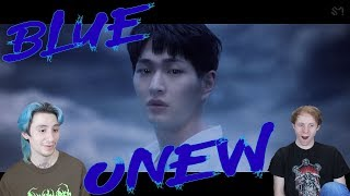 Onew Blue Reaction