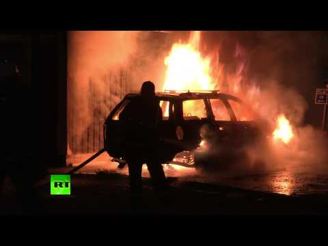 Stockholm Smolders: Sporadic arson attacks sweep city in 5th night of riots