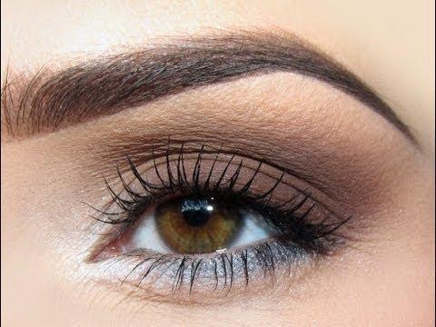 Makija Lubny Dla Brunetki O Piwnych Oczach Classic Weeding Makeup