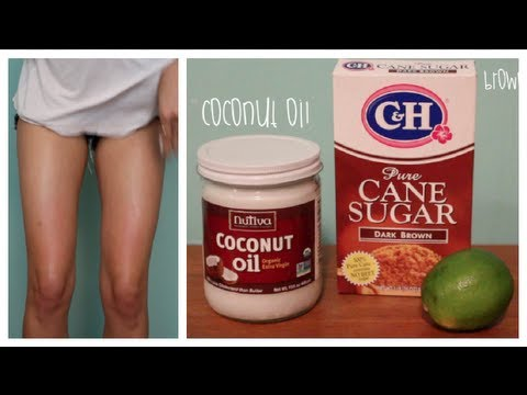 Waxing Demo & DIY Coconut Lime Scrub