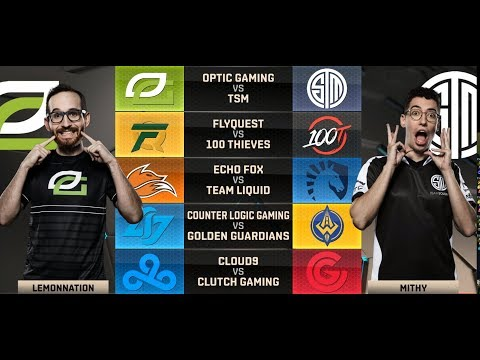NA LCS Highlights ALL GAMES Week 6 Day 2  W6D2 Spring 2018